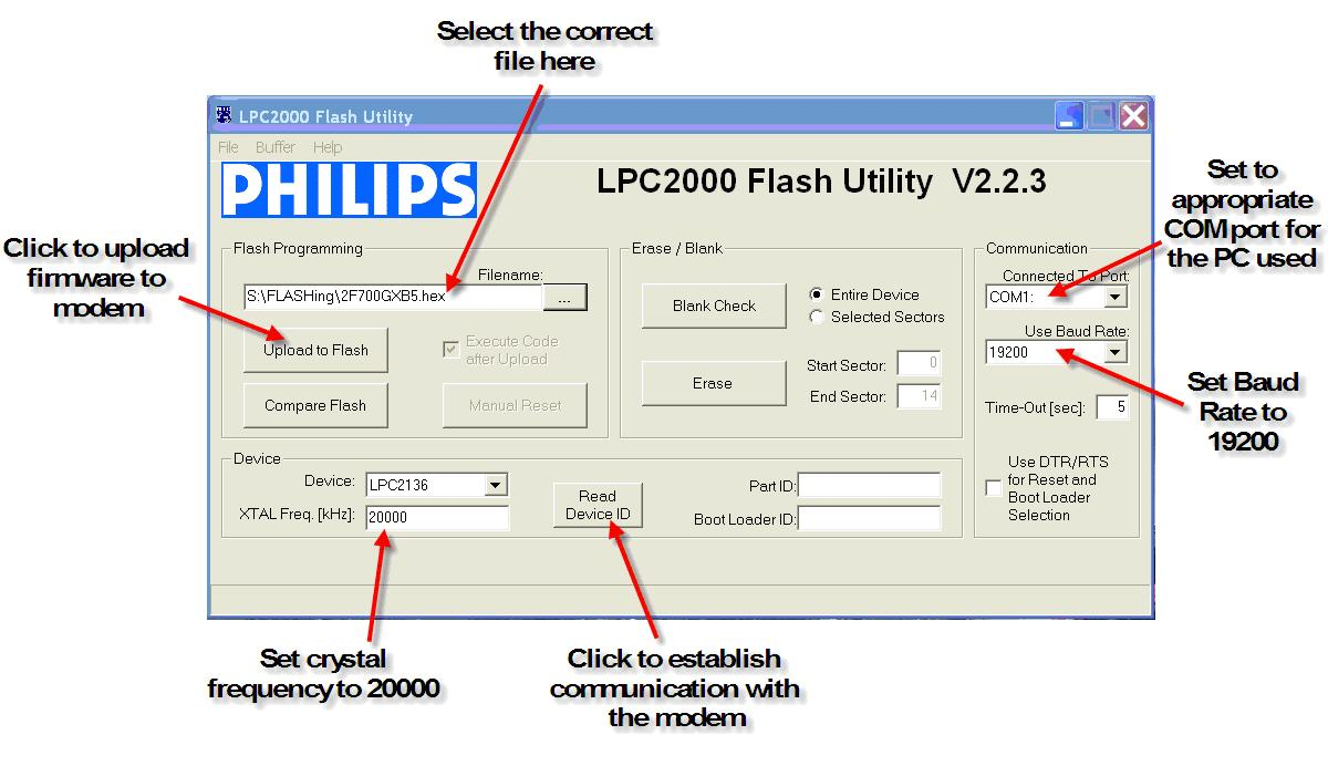 Philips Flash Utility