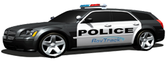 police car gps tracking with Raveon UHF radio